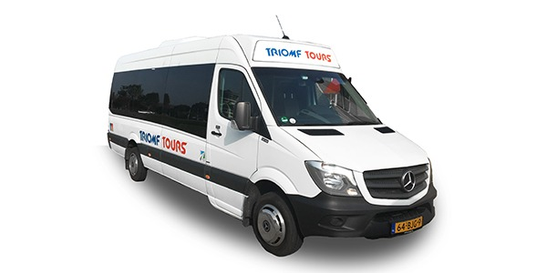 Mercedes sprinter bus huren