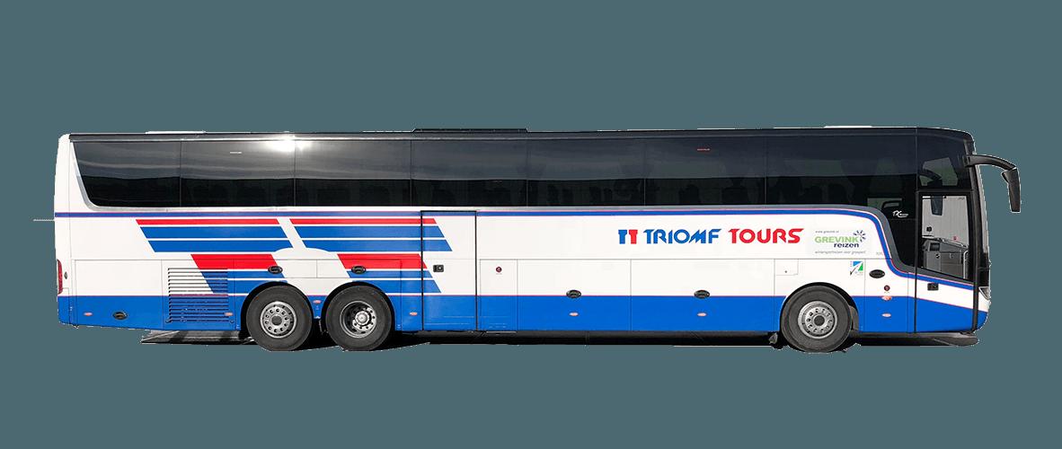 Bus huren; Touringcar huren; Touringcar huren utrecht; bus huren utrecht; Triomf Tours